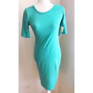 LuLaRoe Solid Midi Dress